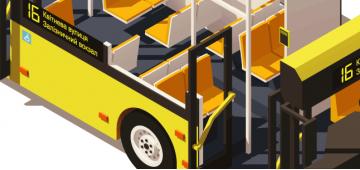 Установка электронных табло и системы автоинформирования на автобусах
