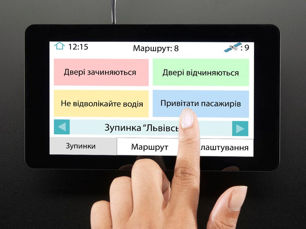 Установка электронных табло и системы автоинформирования на автобусах изображение 2