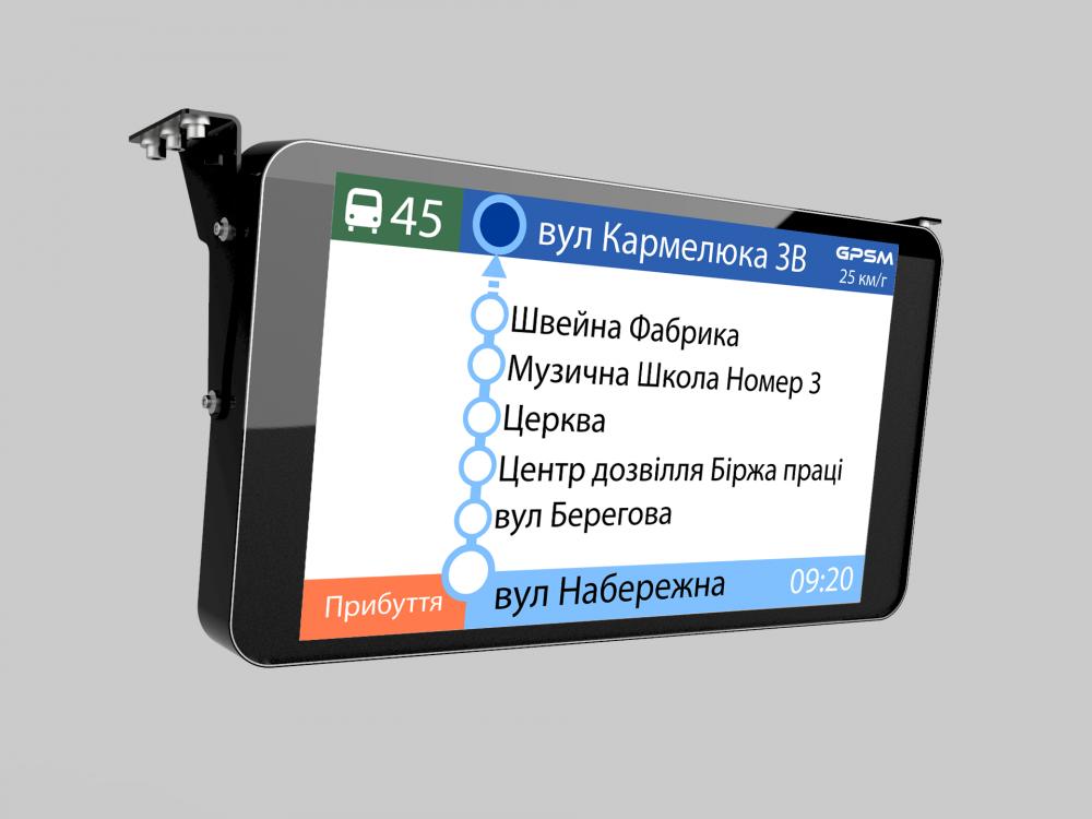 Система видео информирования пассажиров изображение 1