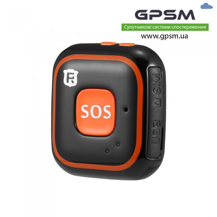 GPS-трекер с тревожной кнопкой GPSM U11 и датчиком падения человека