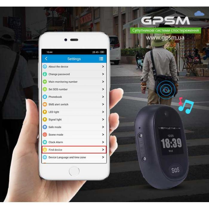 4G (LTE) GPS-трекер с камерой GPSM U12 изображение 1