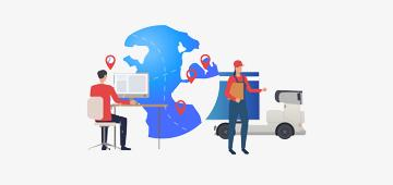 Услуги GPS мониторинга для дистрибуции и служб доставок