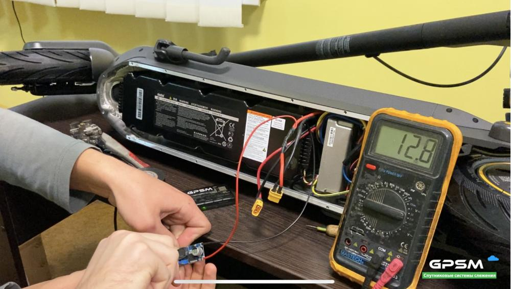 GPS трекер для электросамоката изображение 21