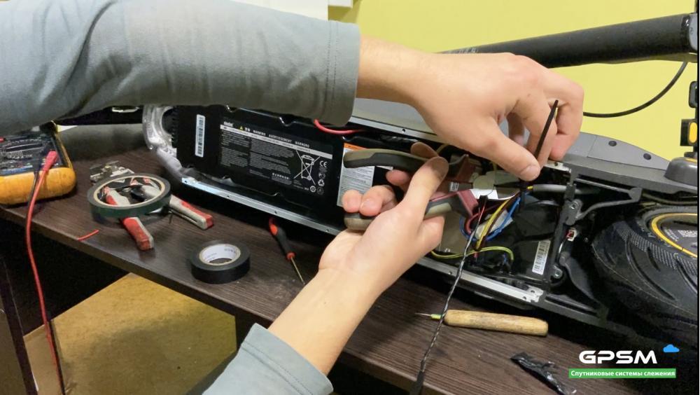 GPS трекер для электросамоката изображение 23