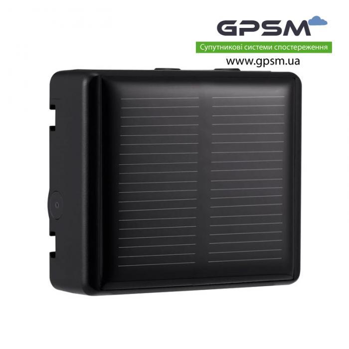 Водонепроницаемый GPS-трекер с большим аккумулятором 3000 мА/ч и солнечной батареей GPSM U50-s изображение 3