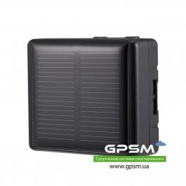 Водонепроницаемый GPS-трекер с большим аккумулятором 3000 мА/ч и солнечной батареей GPSM U50-s