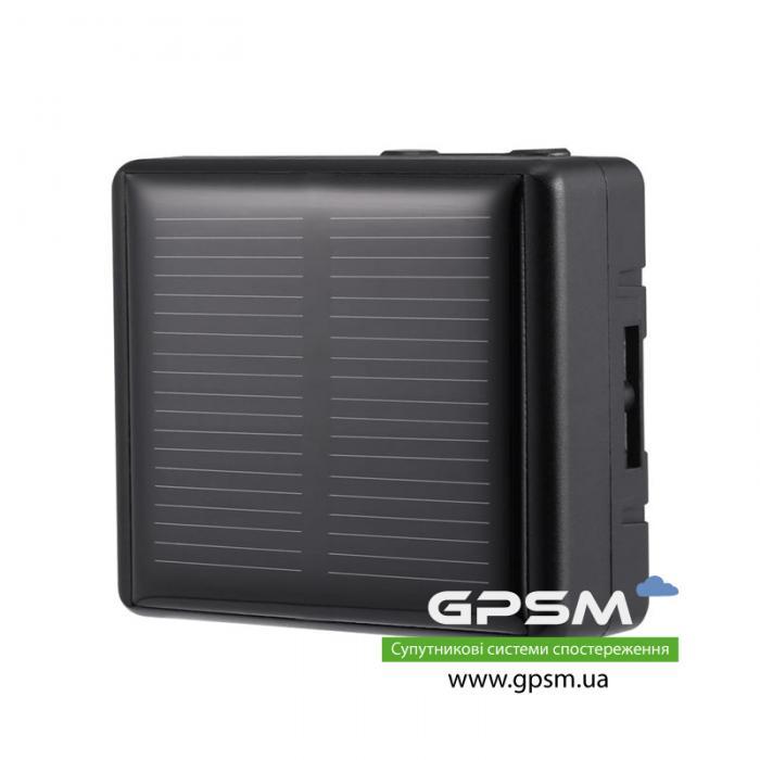 Водонепроницаемый GPS-трекер с большим аккумулятором 3000 мА/ч и солнечной батареей