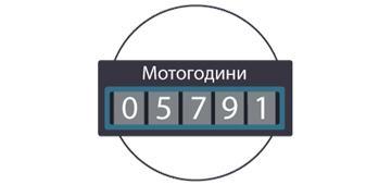 Как контролировать моточасы и время работы двигателя с помощью системы GPSM?