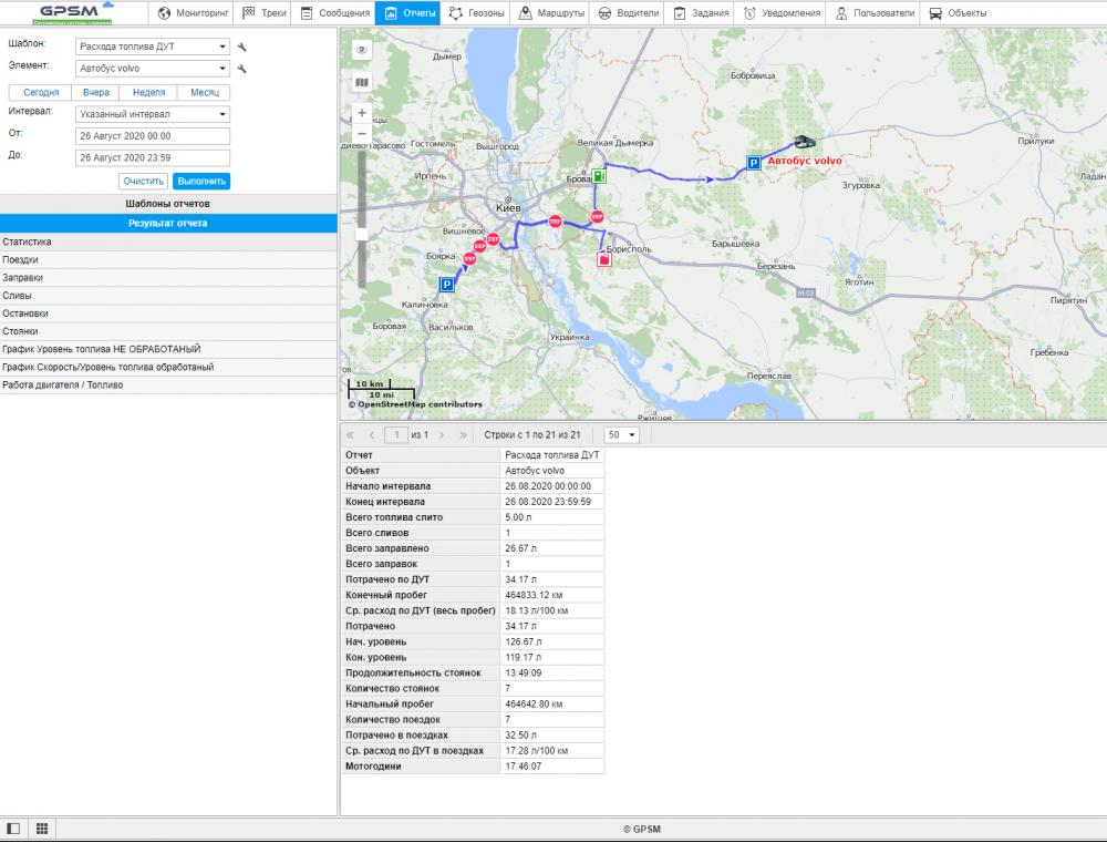 Спутниковый GPS мониторинг пассажироперевозок изображение 5