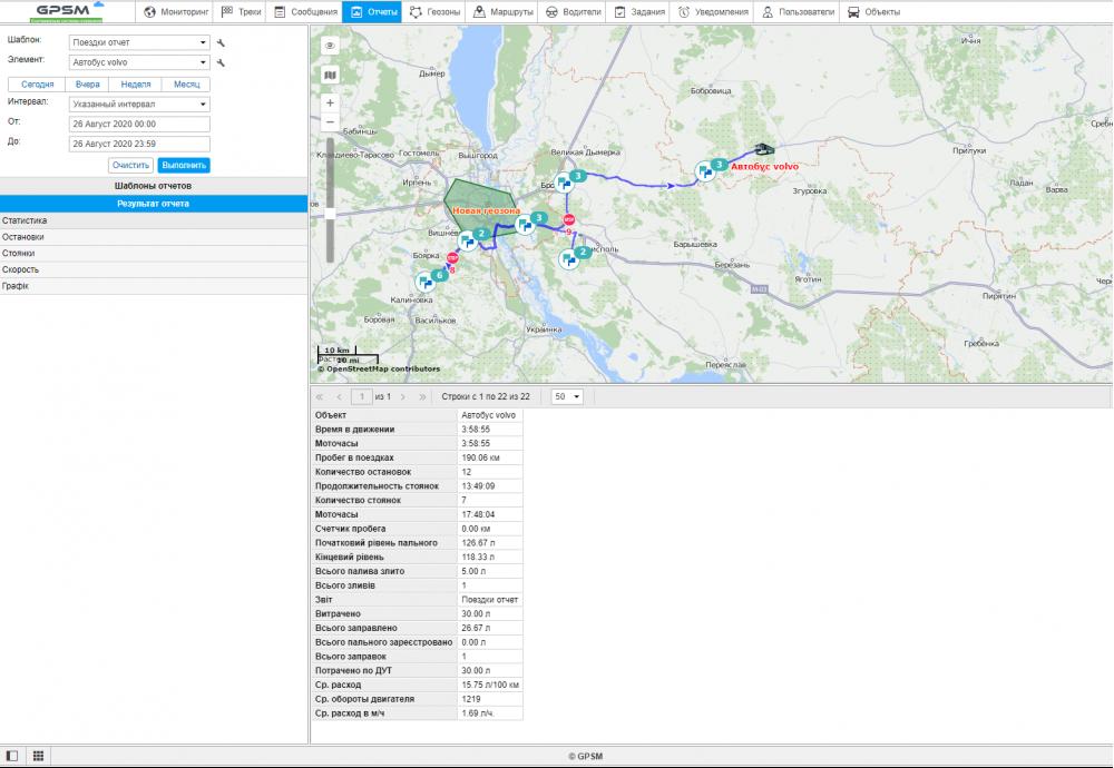 Спутниковый GPS мониторинг пассажироперевозок изображение 7