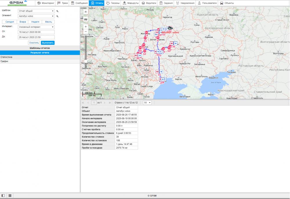 Спутниковый GPS мониторинг пассажироперевозок изображение 8