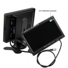 Автомобильный монитор 7 дюймов для камеры заднего вида Podofo K0106, 1024х600, AV, VGA, HDMI (100274)