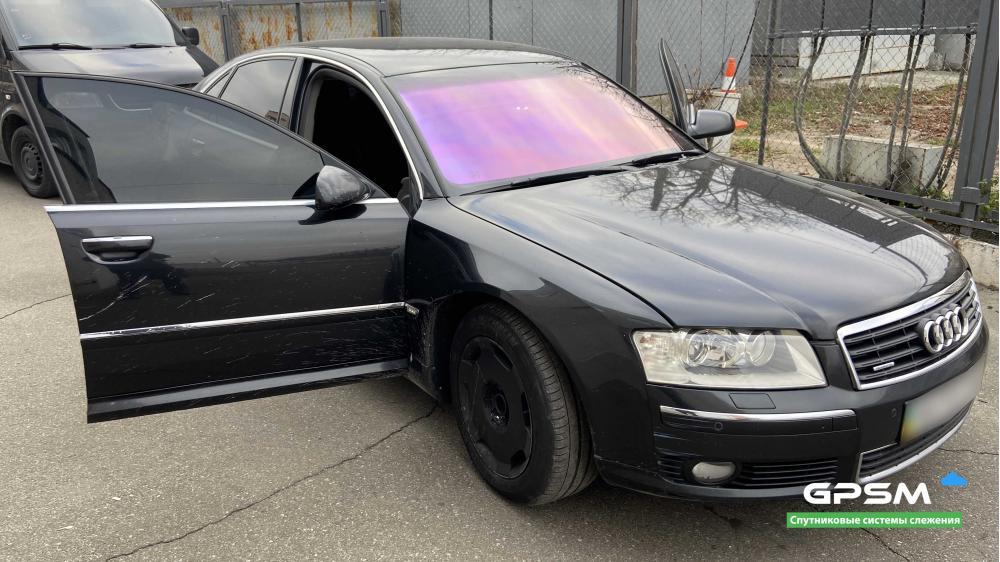 GPS трекер с блокировкой двигателя для Audi изображение 1