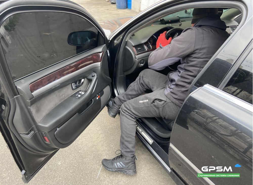 GPS трекер с блокировкой двигателя для Audi изображение 3