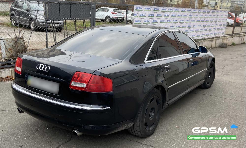 GPS трекер с блокировкой двигателя для Audi изображение 2