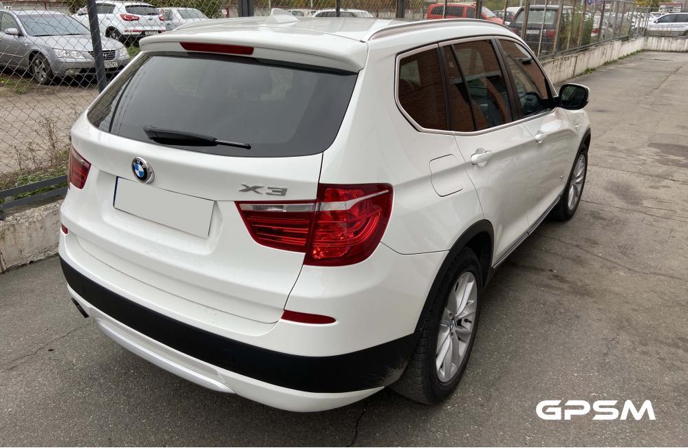 Подключение GPS трекера на автомобиль BMW X3 изображение 3