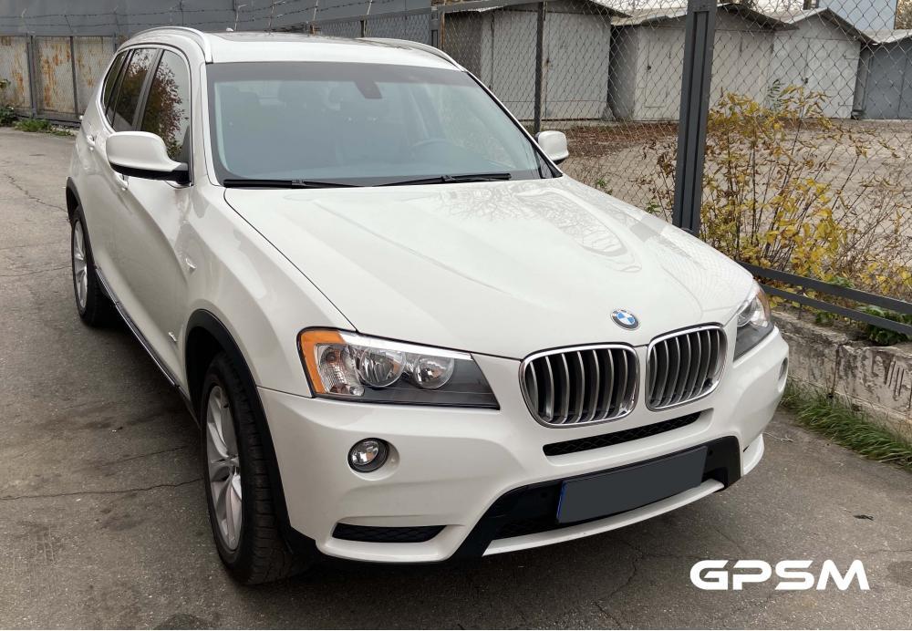 Подключение GPS трекера на автомобиль BMW X3 изображение 1