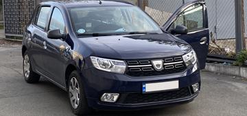 Установка GPS маячка и системы дистанционного глушения двигателя на авто Dacia