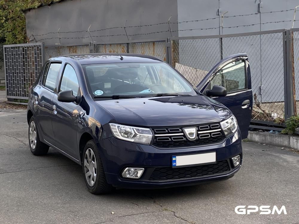Установка GPS маячка и системы дистанционного глушения двигателя на авто Dacia изображение 1