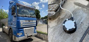 Установка датчика уровня топлива на грузовой автомобиль DAF XF 95 380