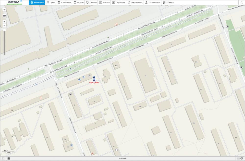 Установка GPS трекера GPSM U9 для коммерческого транспорта на Fiat Qubo  изображение 4