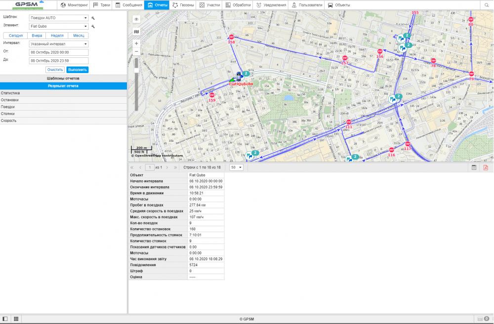Установка GPS трекера GPSM U9 для коммерческого транспорта на Fiat Qubo  изображение 8