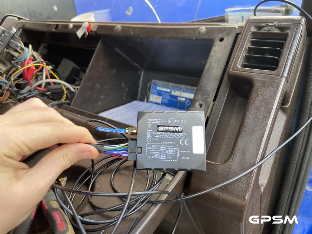 Система слежения и контроля топлива для грузового фургона Mercedes-Benz изображение 3
