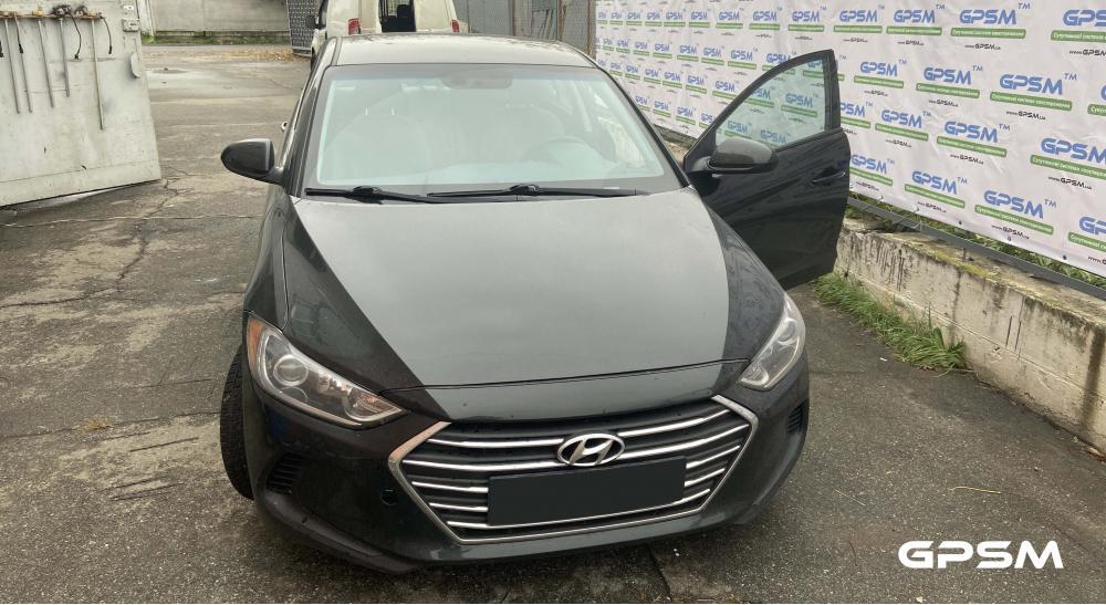 Услуга установки GPS трекера на автомобиль Hyundai Elantra изображение 1