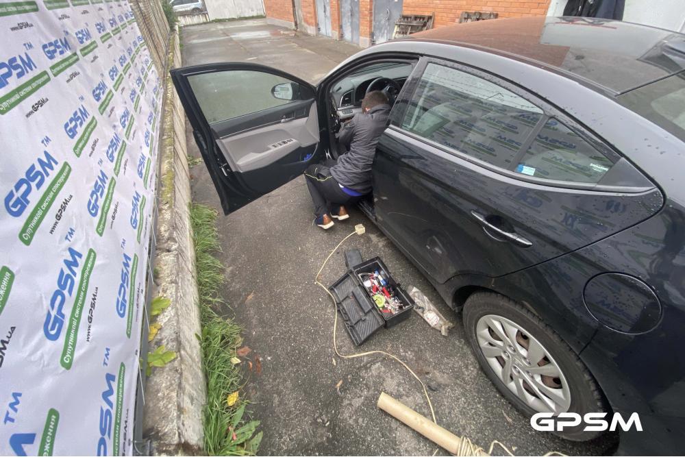 Услуга установки GPS трекера на автомобиль Hyundai Elantra изображение 2