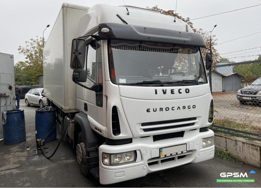 Мониторинг расхода топлива на IVECO EuroCargo 120E24 изображение 1
