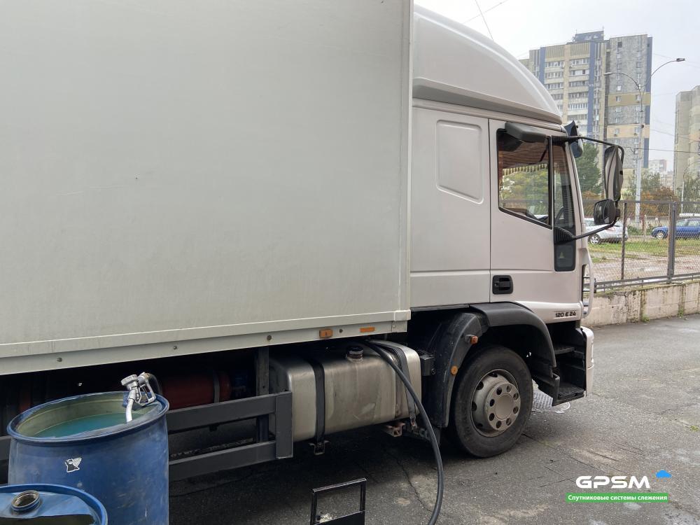 Мониторинг расхода топлива на IVECO EuroCargo 120E24 изображение 2