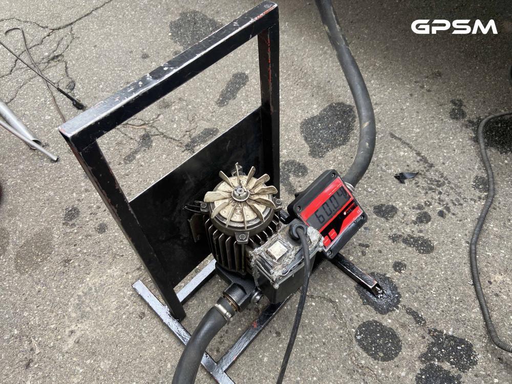 GPS система контроля топлива на кран манипулятор MAN изображение 7
