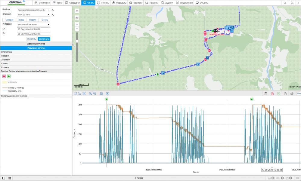 GPS + Датчик уровня топливного бака на MAN изображение 17