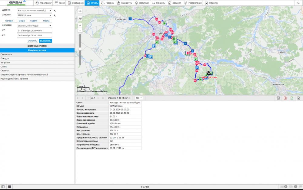 GPS + Датчик уровня топливного бака на MAN изображение 16