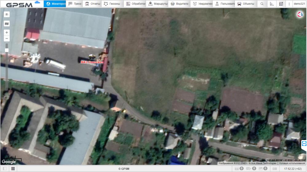 GPS мониторинг с контролем топлива на самосвал МАЗ изображение 6