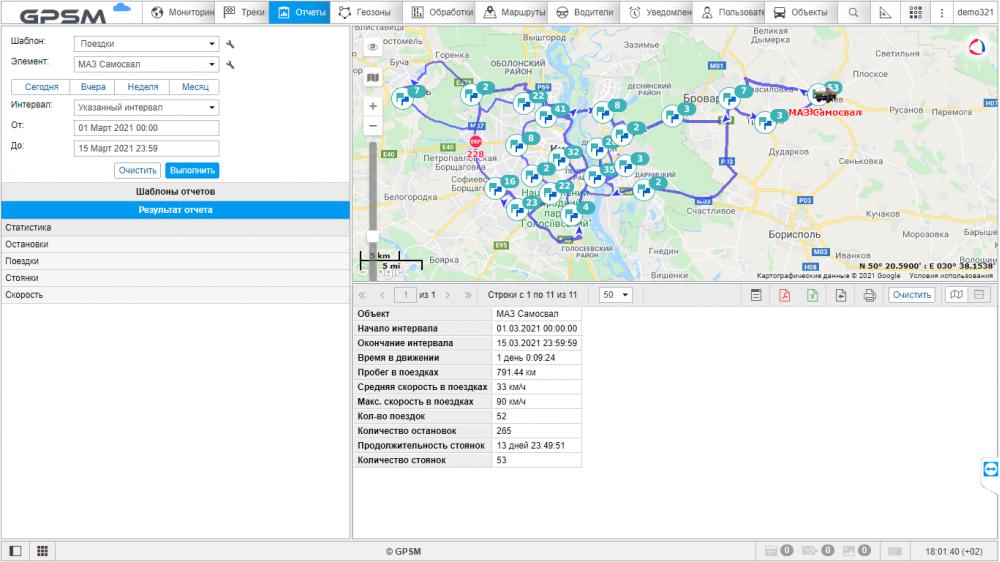 GPS мониторинг с контролем топлива на самосвал МАЗ изображение 11