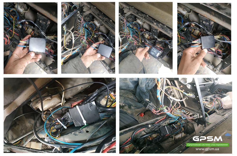 GPS мониторинг с контролем топлива на самосвал МАЗ изображение 2