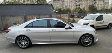 Установка GPS с блокировкой двигателя на Mercedes-Benz S-Class
