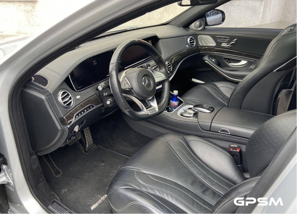 Установка GPS с блокировкой двигателя на Mercedes-Benz S-Class изображение 3