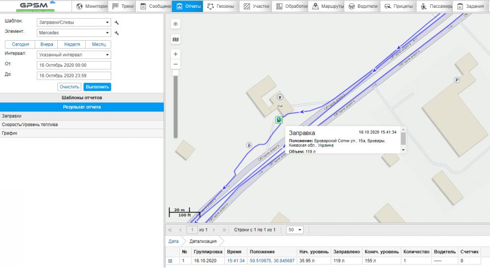 GPS контроль транспорта с датчиком уровня топлива изображение 15