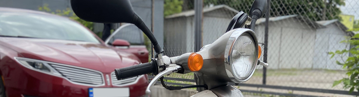 Установка GPS маячка GPSM Pro на скутер