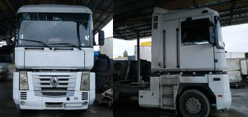 GPS мониторинг грузового транспорта Renault Magnum