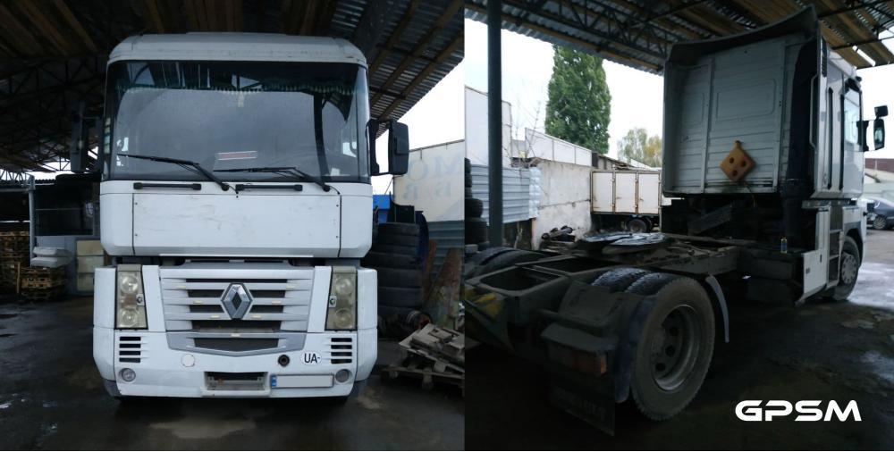 GPS мониторинг грузового транспорта Renault Magnum изображение 1