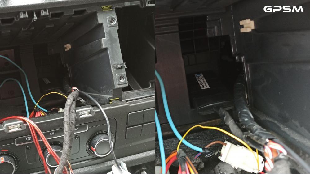 Монтаж GPS терминала на автомобиль Volkswagen Caravelle изображение 3