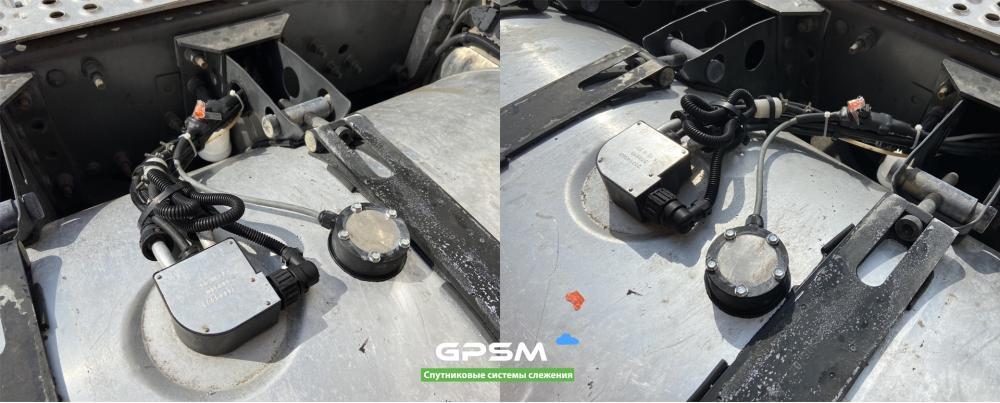 GPS система контроля расхода топлива на Volvo FH 500 изображение 4