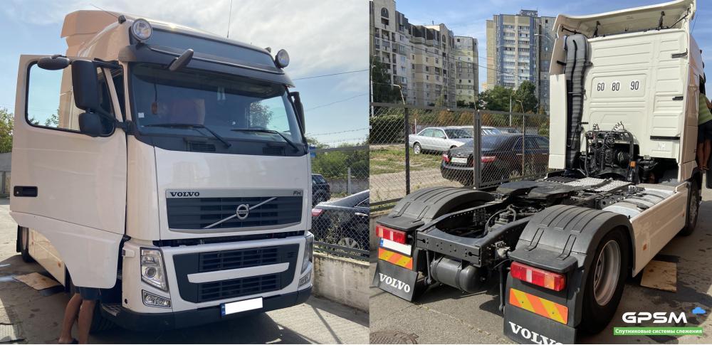 GPS система контроля расхода топлива на Volvo FH 500 изображение 1