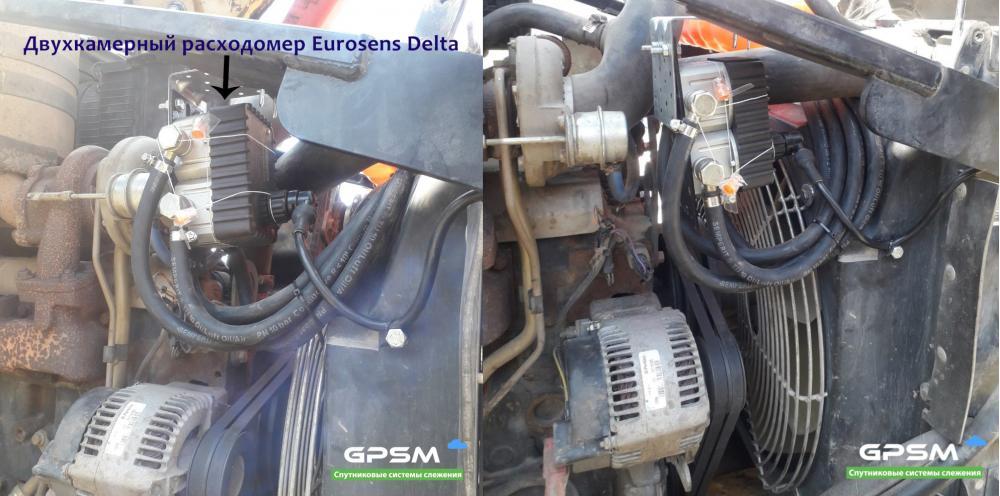 Датчики расхода топлива Eurosens | Установка расходомера изображение 11