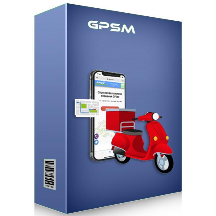 GPS мониторинг мопедов и скутеров GPSM Scooter