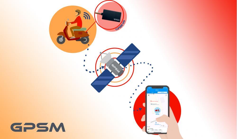 GPS мониторинг мопедов и скутеров GPSM Scooter изображение 1