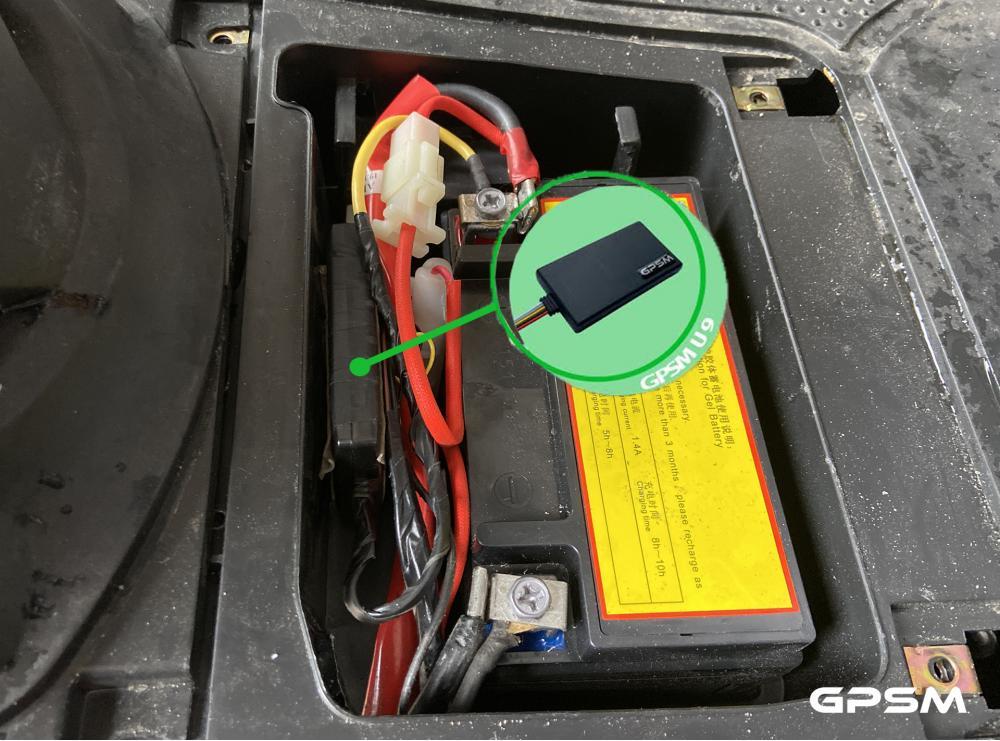 GPS мониторинг мопедов и скутеров GPSM Scooter изображение 15